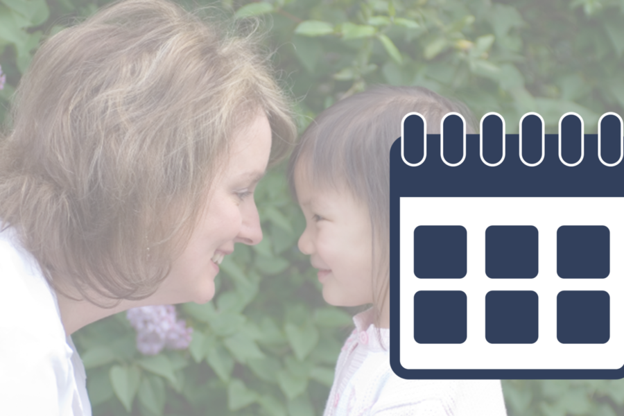 Foster Parent Training Calendar